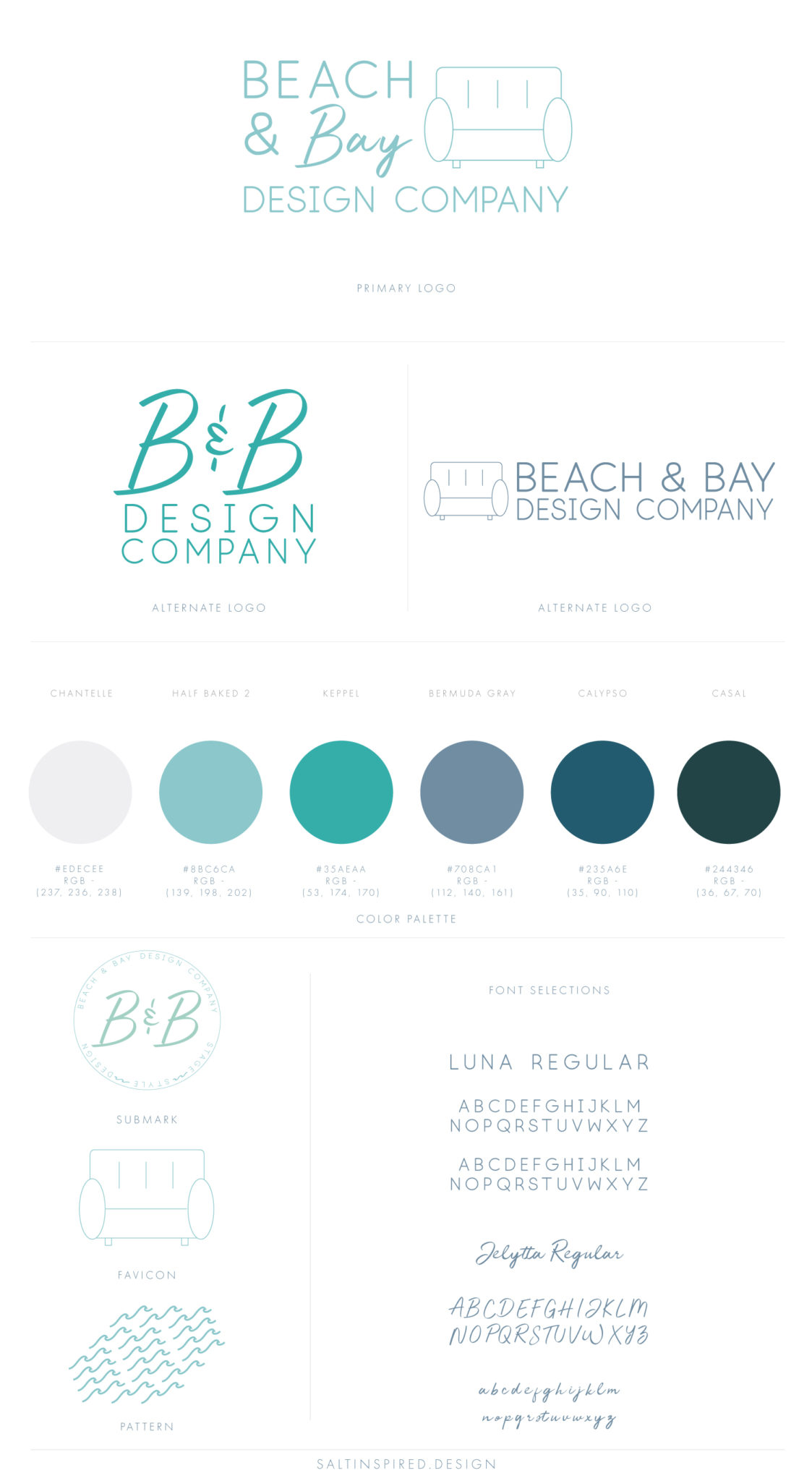 Salt Inspired Design | WordPress Web & Logo Design Studio for creative, ethical, and ocean-inspired businesses | Florida | Texas